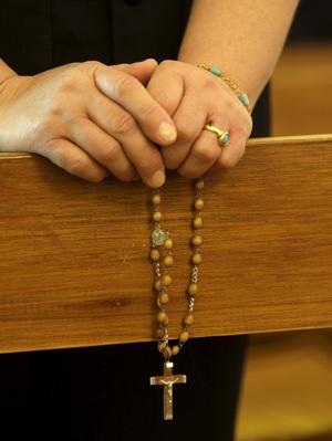 Lever farligt. Kristna i Irak utsätts för mord, kidnappningar och våldtäkter och närmare 70 kyrkor har sedan 2003 attackerats eller bombats med åtskilliga dödade, skriver debattörerna.foto: scanpix
