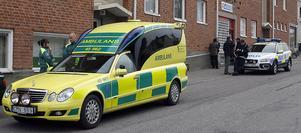 En ung man har blivit mördad på Åsbäcksgatan i Söderhamn