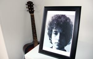 Gitarren och Bob Dylan.