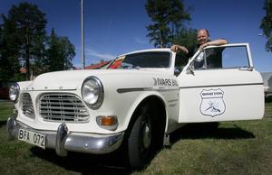 Så här ser årets lotterivinst ut. En Volvo Amazon -69 som tidigare ingått i Bil-Ivars samlingar.