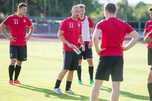 Nya tränaren Tony Andersson var nöjd med sitt lag under lördagen, efter matchen mot Västanvik.