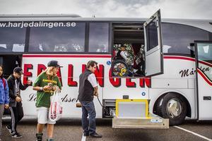 Den nya handikappanpassade turistbussen, är enligt Jocke Brünner-Palm den enda i sitt slag i Hälsingland, och rätt unik i Norrland.