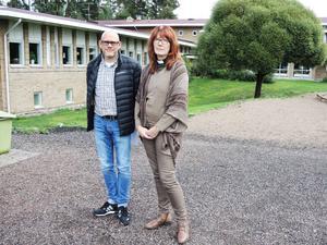 Lasse Vestin och Anki Sylwan.