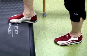 Träning via artrosskola. Arkivbild.