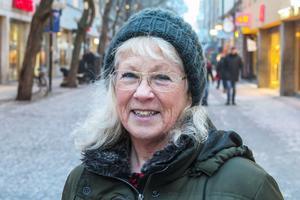 Maj Johansson, 68 år, Frösön: – Nej. Det känns bara onödigt. Jag tycker att man ska försöka njuta av  livet i stället för att tyngas av löften.