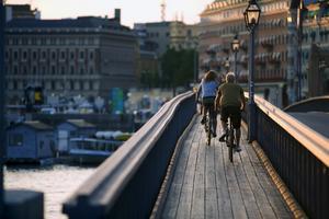 Billigt, roligt, nyttigt - se Stockholm från alla håll på cykel.