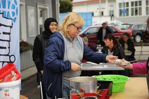 Marie Svensson, som jobbar på Alfta Quren, ser dagen som ett sätt för de boende att visa upp sin kultur.