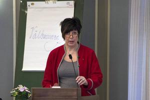 Folkpartiets gruppledare Ingeborg Wiksten är inte förvånad över att landstingsdirektör Anders L Johansson kommer att avgå.