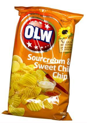 Chips direkt ur påsen funkar till vardags och fest.