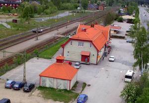Jernhusen AB söker en ny ägare till Bräcke stationshus. Foto: Ingvar Ericsson