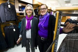 BEKANTA. Mona Olsson och Annsofi Persson är bekanta ansikten – de blir kvar på DM Mode när de öppnar med ny ägare i slutet av veckan.