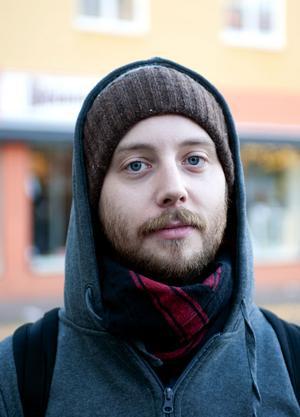 Lars Wahlin, 26, student, Borlänge– Jag tycker att det verkar bra. Det känns sjukt mycket bättre än Rhianna. Mer sånt.