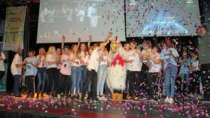 Stor glädje när Tuppkärrskolan från Surahammar vann championpriset i First Lego League i helgen.