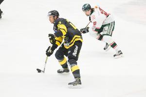 VIK-fansen hoppas att Simon Karlsson är en av spelarna som driver Gulsvart till nytt kontrakt i Hockeyallsvenskan.