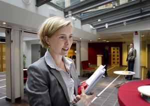 Åklagare Karin Everitt fick igenom sitt yrkande på häktning för grov stöld.