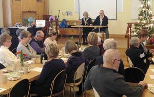 Verksamheten för 2018 inom PRO Folkärna/Krylbo drog officiellt i gång med upptaktsmötet i PRO-gården i Krylbo den 18 januari.