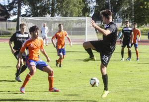 Hamode Hussein är Bollnäs bästa målskytt under säsongen med sina nio mål.