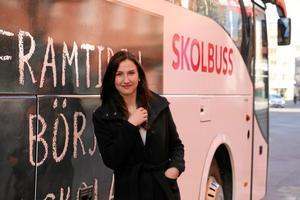 Gymnasie- och kunskapslyftsministern Aida Hadzialic fann inspiration i Örebro.