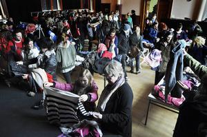 85 personer lämnade in kläder vid klädbytardagen i Östersund under lördagen. 47 personer besökte motsvarande arrangemang i Järpen.