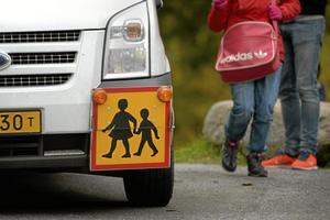 Transport. Förvaltningsrätten har bestämt att barnen har rätt till särskild skolskjuts - ändå hänvisas de nu till de vanliga linjebussarna, framhåller skribenten. Foto: Janerik Henriksson/TT