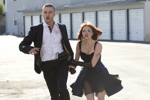 Justin Timberlake och Amanda Seyfried bildar ett Bonnie och Clyde-inspirerat par i