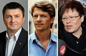 Jasenko Omanovic (S), Carl Hamilton (S) och Elvy Söderström (S) kommer att första maj-tala i Ångermanland.