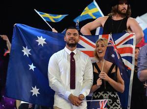 Guy Sebastian representerade Australia i Eurovision Song Contest i våras.