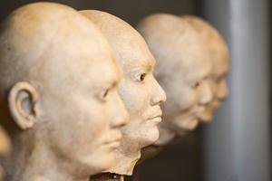 Skulpturerna kan du se på nära håll då nya konsthallen på Frösö Park invigs den 3 oktober.
