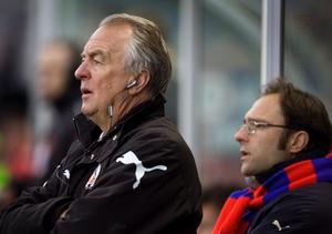 Bosse Nilsson tränade tidigare Helsingborg ihop med nuvarande ÖSK-tränaren Peo Ljung.