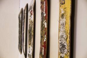 Det går åt många skateboards för att göra en utställning.