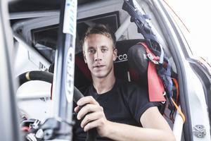 Patrik Flodin från Ilsbo tävlar i Supercar Lites.
