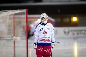 Johan Sundqvist och Kalix fick med sig en poäng hem från Falun. I morgon gästar Nässjö Kalix IP. Arkivbild.