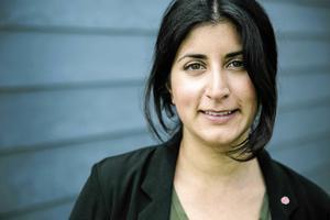Roza Güclü-Hedin, socialdemokratisk riksdagsledamot från Falun.