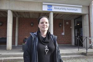 Marie Larsson, socialdemokratiskt kommunalråd i Älvkarleby kommun.