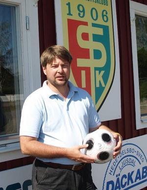 IF Elfsborgs ordförande Bosse Johansson från Sveg är mycket nöjd med andra platsen i Allsvenskan. Foto: Leif Eriksson