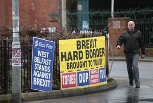 EU är stor valfråga på Nordirland.