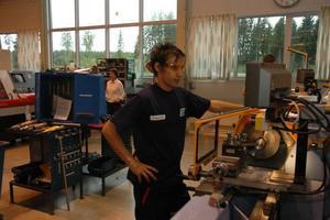 MISTE JOBBET. I september gick 21-årige Tobias Lööf, Tierp, en internutbildning till Atlas Copco till CNC-operatör. Nu har han och alla de andra cirka 20 som gick kursen mist jobbet.