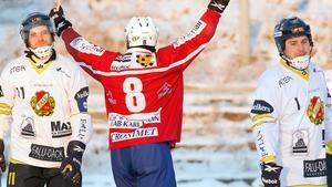 Fredrik Rydberg fick BS-spelarna att deppa.