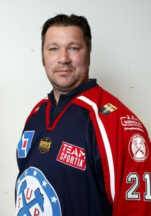 """Huvudtränare. Mattias """"Tjatte"""" Karlsson."""