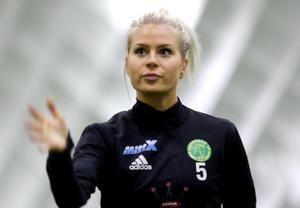 Team Hudiks Victoria Forss, skadedrabbad de senaste säsongerna, kan vara ett hett spår för Ljusdal till nästa år.