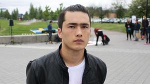 Rahmat Ahmadi kommer från Afghanistan.