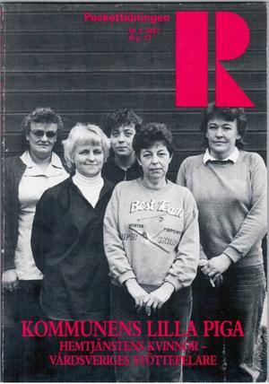 Pockettidningen R har haft olika utseenden genom åren och inte alltid kommit ut i pocketformat. Nuvarande redaktören Kurt Nurmi återvände till det ursprungliga formatet när han tog över tidningen.