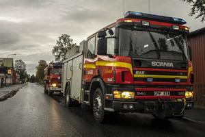 Tidigt söndag morgon blev det utryckning för räddningstjänsten i Sveg.