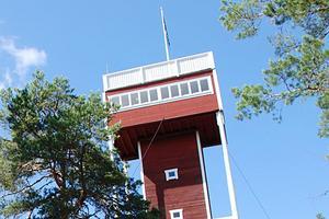 År 1933 tog en grupp skogsägare initiativet till att bygga ett brandtorn på Björkberget.