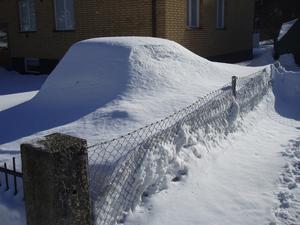 Det är många snö- och vinterbilder just nu. Här är mitt bidrag.