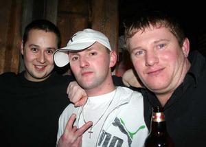 Konrad. Tomas, Rafael och Paul
