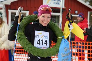 Ulrica Persson, Sunne SLF, segrare i damklassen.