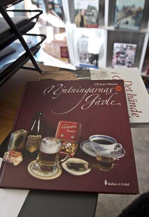 """Ulf Ivar Nilsson bok """"Njutningarna Gävle"""" är den enda av förlagets böcker som har sålt slut."""