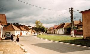 Zarnesti, en rumänsk stad av Sandvikens storlek.