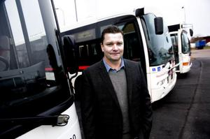 Tomas Nordholm, Dalatrafiks marknadschef.